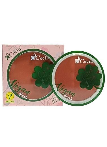 Cecile Cecile Catch The Faith Özel Aplikatörlü Ipeksi Yapılı Vegan 01 Allık Renksiz